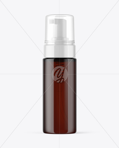 Download Amber Airless Pump Bottle Mockup In Bottle Mockups On Yellow Images Object Mockups Yellowimages Mockups