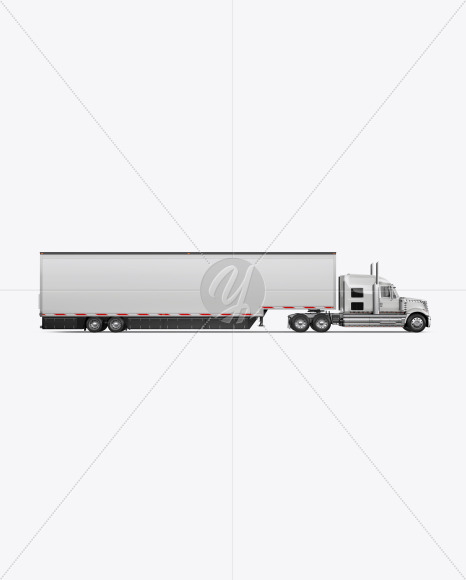 Truck Mockup - Side View