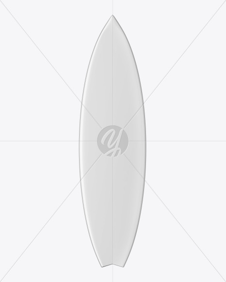 Surfboard Mockup - Front View