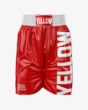 Boxing Shorts Mockup - Front View