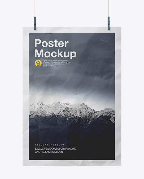 Download 3 Poster Mockup Free Download PSD - Free PSD Mockup Templates