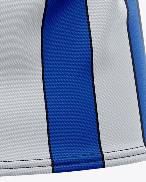 Men's Soccer Jersey Mockup - Back Half-Side View
