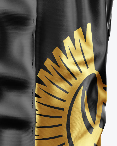 Boxing Shorts Mockup - Side View