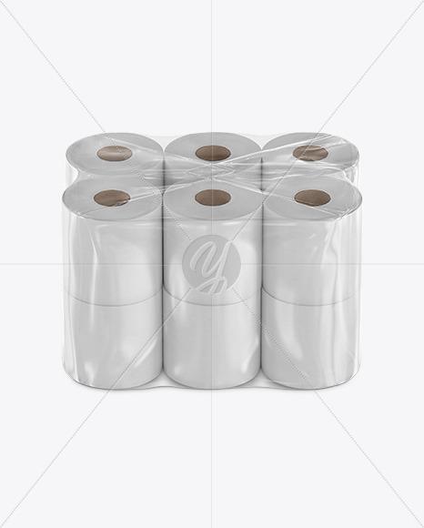 Toilet Paper 12 Pack Mockup