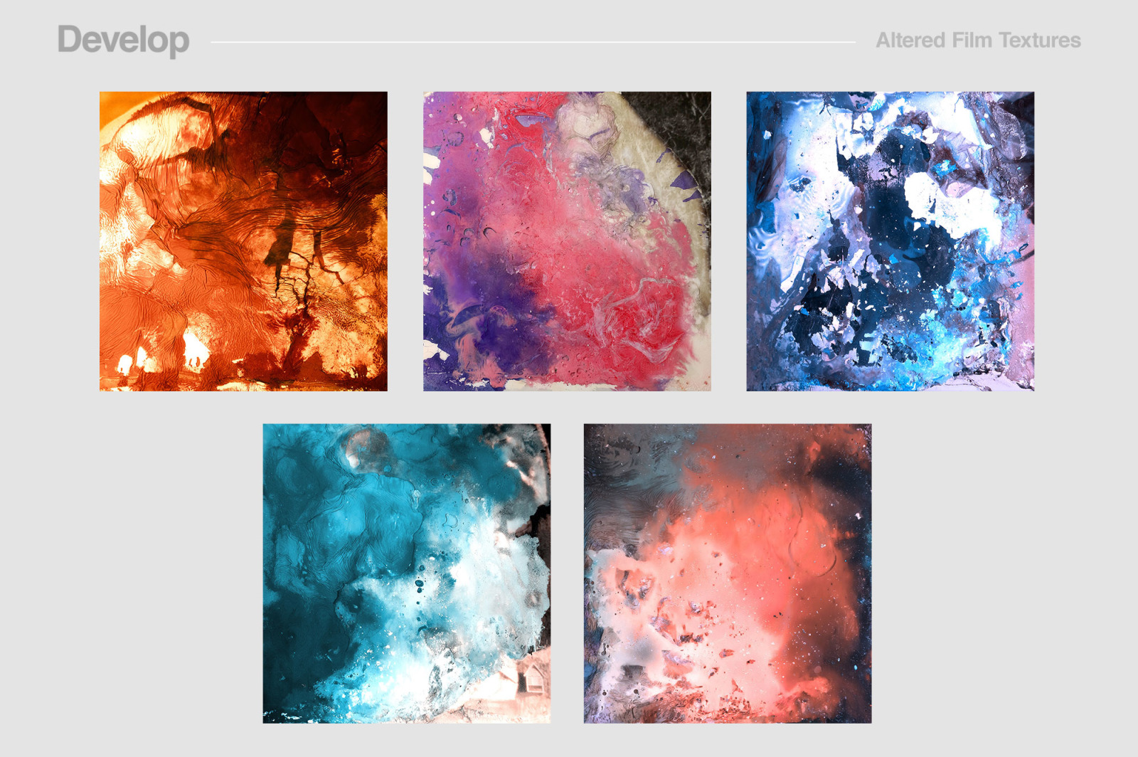 Develop: Altered Film Textures
