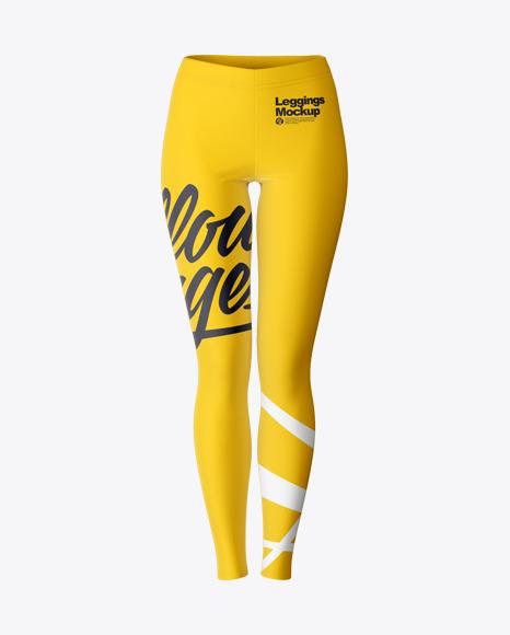 Long Leggings - Front View