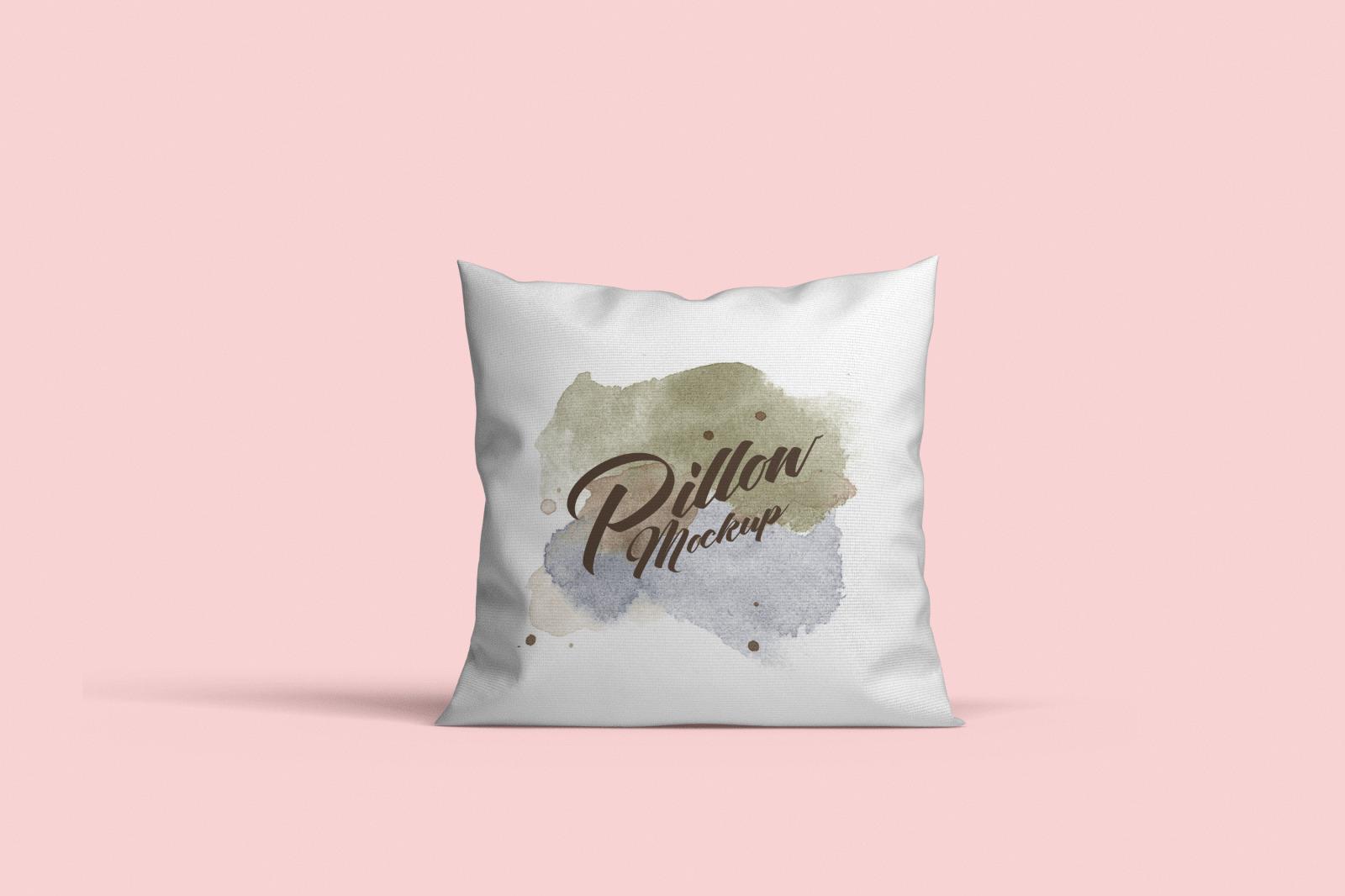 Square pillow mockups