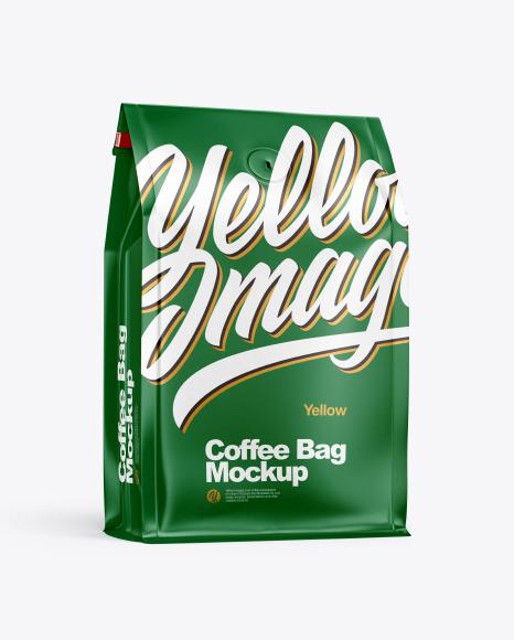 Paper Coffee Bag Mockup