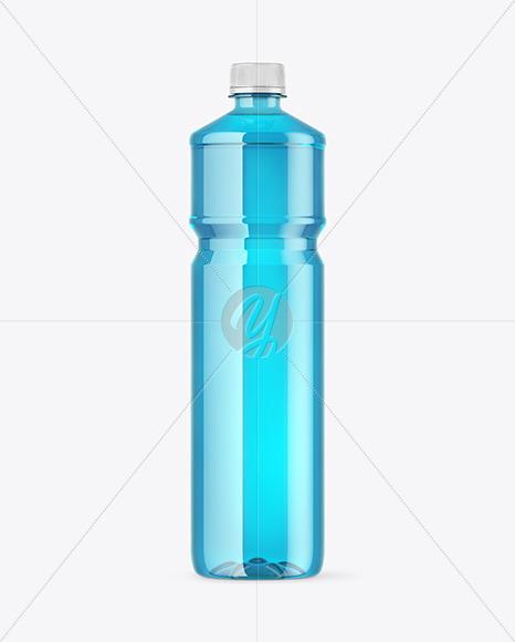 Clear PET Bottle Mockup