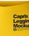 Capris Leggings - Front View