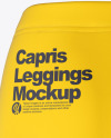 Capris Leggings - Back View