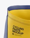 Cycling Shorts Mockup - Front View