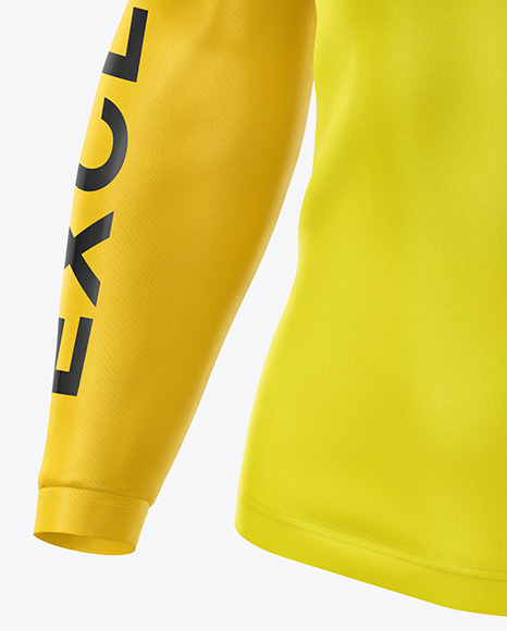 Download Mens Classic Cycling Jersey Mockup Half Side View Yellowimages