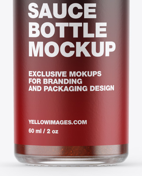 Download Barbecue Sauce Bottle Mockup PSD - Free PSD Mockup Templates