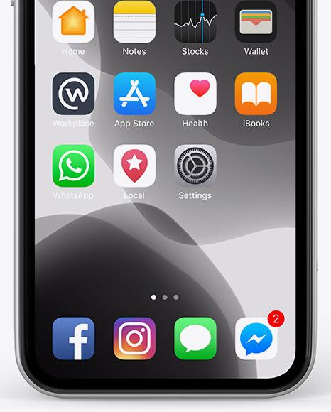 Apple iPhone 11 Mockup