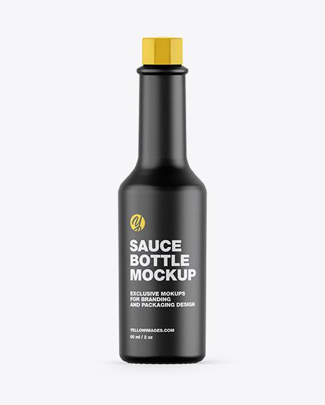 Download Ceramic Sauce Bottle PSD Mockup