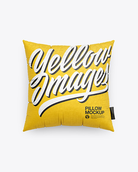 Download Square Pillow PSD Mockup