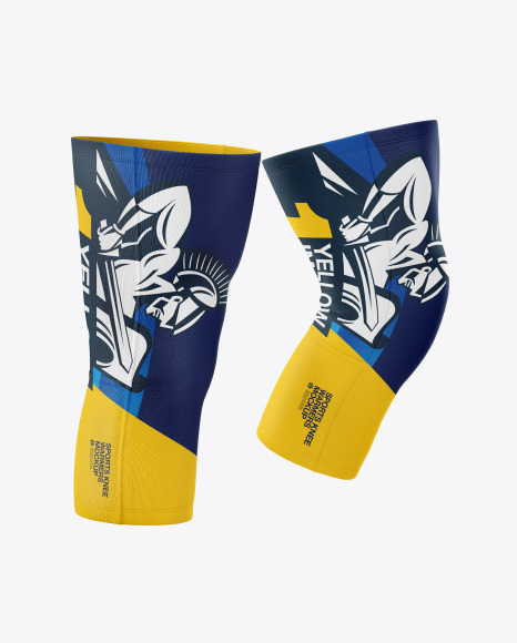Download Sports Knee Warmers PSD Mockup