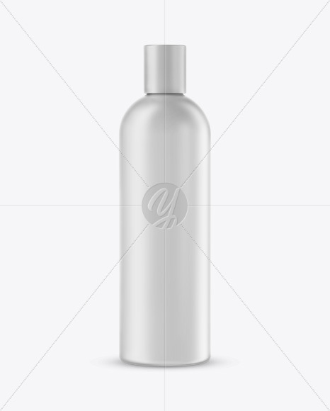 Matte Plastic Cosmetic Bottle Mockup