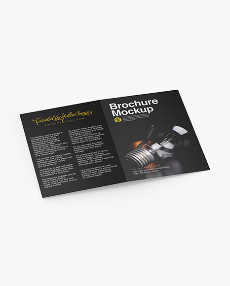 Download Brochure PSD Mockup