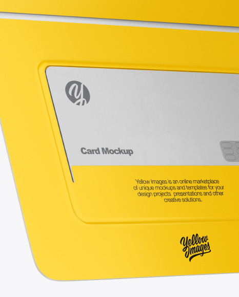 Credit Card Envelope Mockup