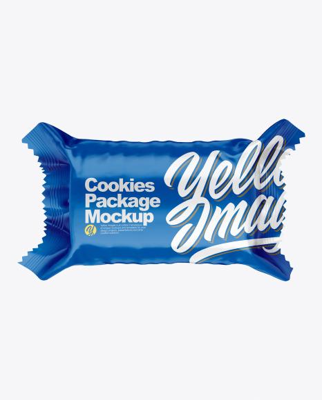 Download Cookies Package PSD Mockup
