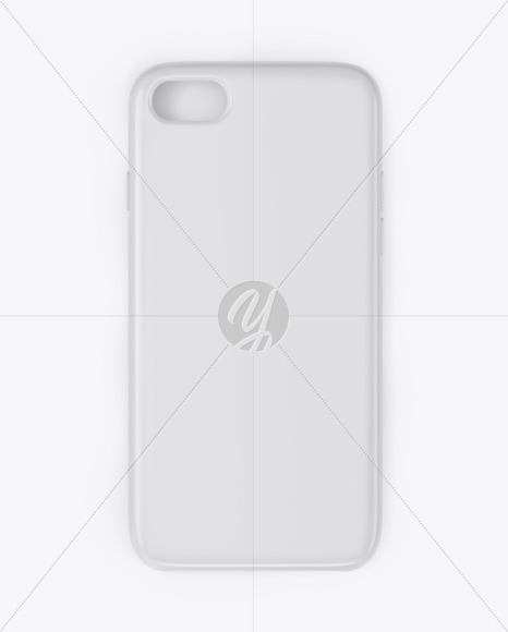 iPhone Glossy Case Mockup