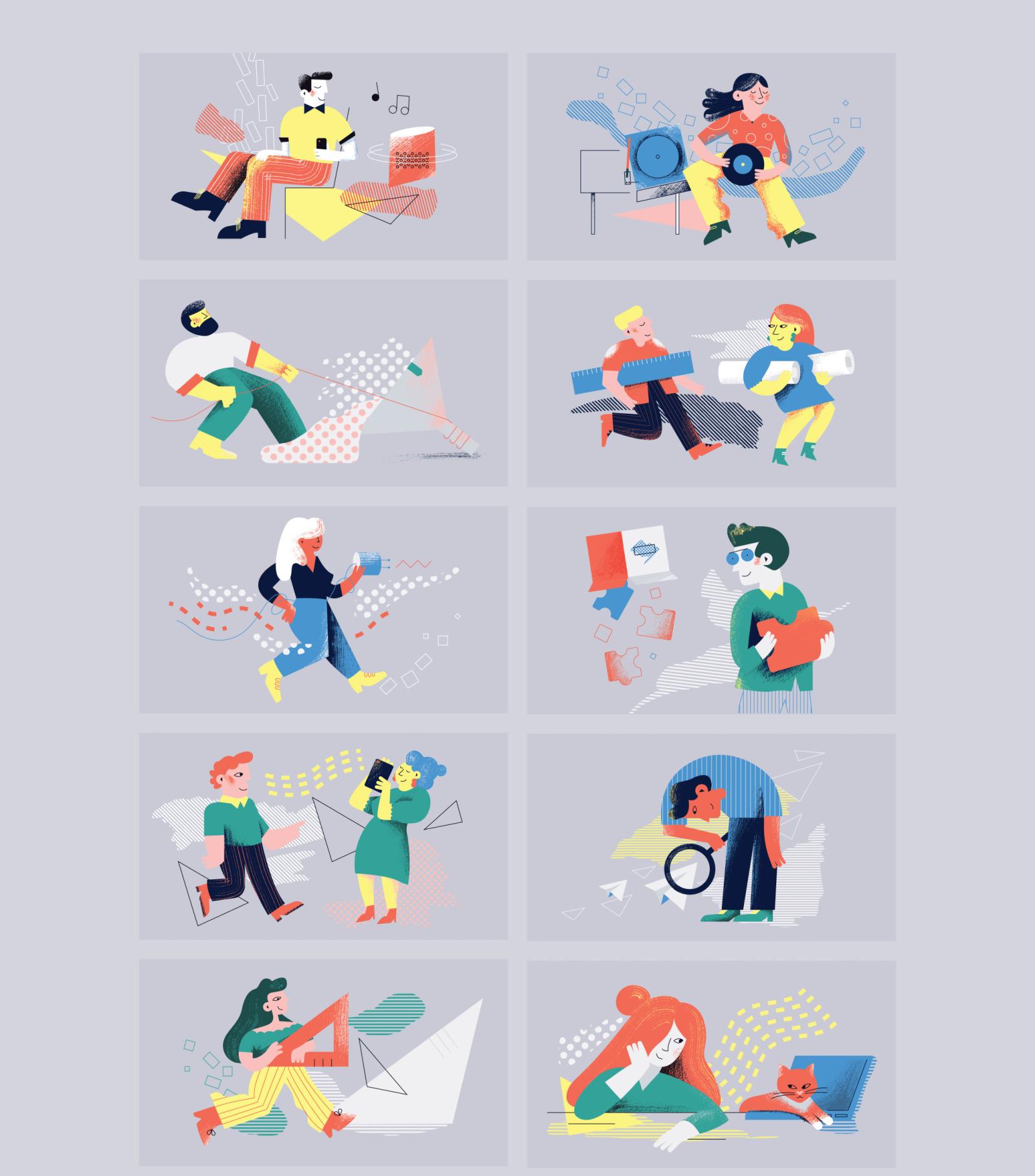 Dance Illustrations