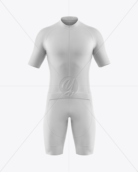 Download Mens Full Cycling Time Trial Kit Mockup Front View Yellowimages