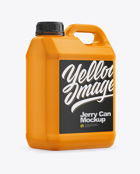 Download Matte Jerry Can PSD Mockup