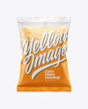 Matte Bag With Honey Stars Cereal Mockup
