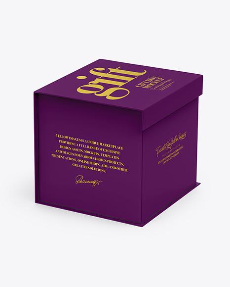 Download Matte Box PSD Mockup