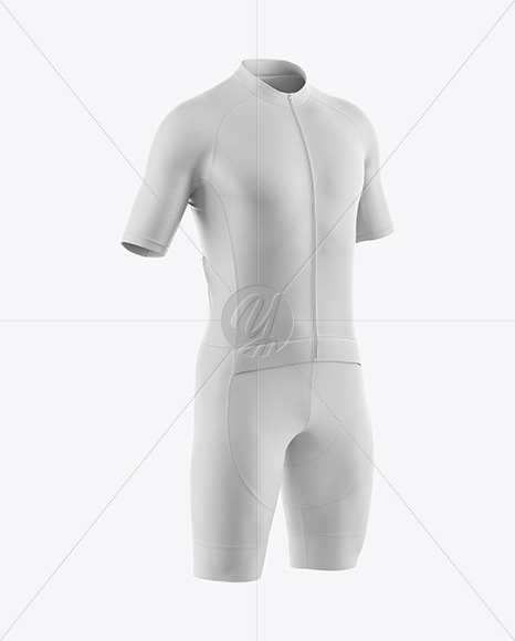 Download Mens Full Cycling Time Trial Kit Mockup Hero Shot Yellowimages