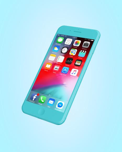 Clay Apple Iphone 7 Mockup