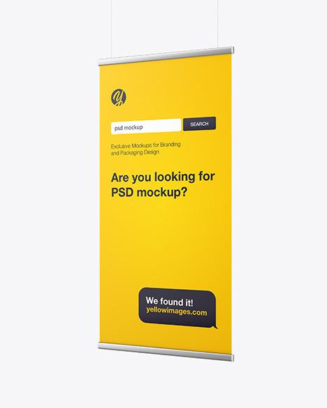 Download Metallic Frame Banner PSD Mockup