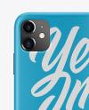 iPhone 11 Matte Case Mockup