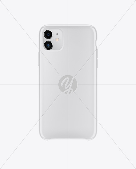 Download Iphone 11 Glossy Case Mockup In Device Mockups On Yellow Images Object Mockups PSD Mockup Templates