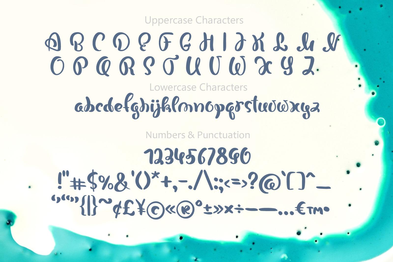 Bonjour Hand Drawn Font