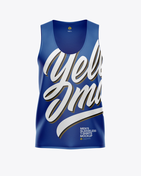 Download Mens Sleeveless Shirt PSD Mockup