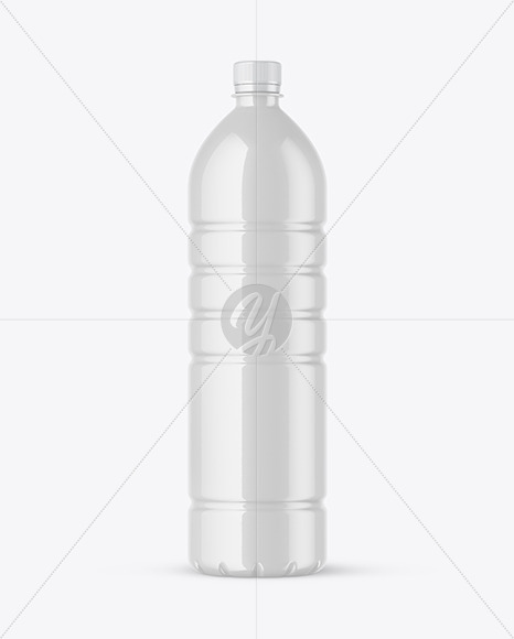 Download Amber Pet Bottle With Water Mockup PSD - Free PSD Mockup Templates