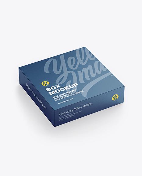 Download Textured Paper Box PSD Mockup