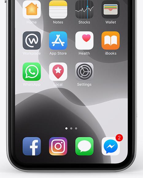 Apple iPhone 11 Pro Mockup