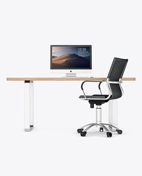 iMac on the Desk