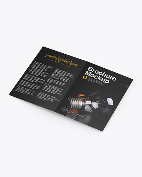 Download Brochure PSD Mockup