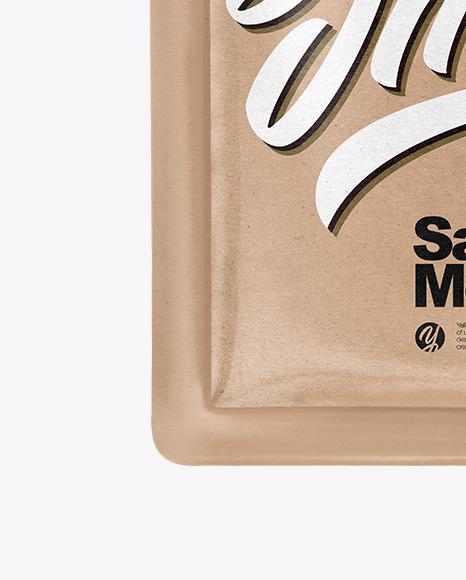 Kraft Paper Sachet Mockup