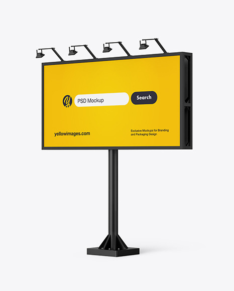 Download 6x3 Billboard PSD Mockup
