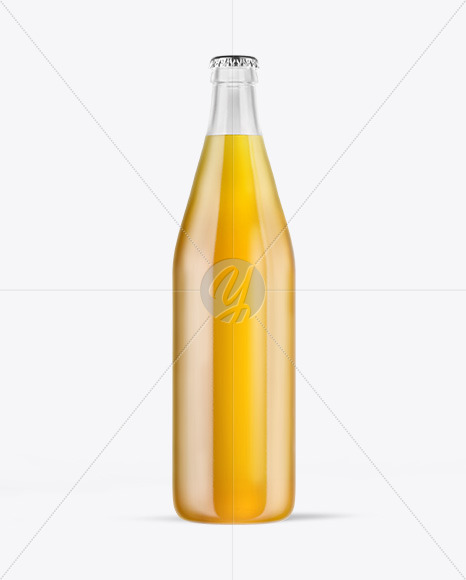 Download Amber Beer Bottle Mockup PSD - Free PSD Mockup Templates