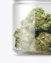 Medicinal Marijuana Jar Mockup