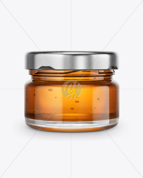Download Glass Jar With Pure Honey Mockup In Jar Mockups On Yellow Images Object Mockups PSD Mockup Templates