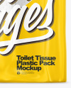 Toilet Paper 18 Pack Mockup - Front View